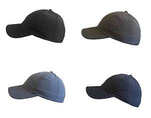 UNISEX ADULT SHOWER PROOF WATER PROOF BASEBALL CAP ADJUSTABLE WATER PROOF HAT