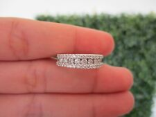 .98 Carat Diamond White Gold Half Eternity Ring 14k codeHE61 sepvergara