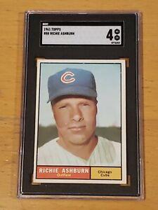1961 Topps #88 Richie Ashburn SGC 4 Newly Graded PSA ?