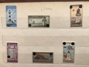 New 1967 Life Insurance Stamps, Set Of 6 MNH
