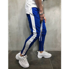 Men's Track Pants Casual Sports Jogging Bottoms Joggers Gym Sweats Trousers US