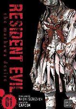 Resident Evil, Vol. 1: The Marhawa Desire, Serizawa, Naoki, Good Book