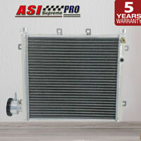 ASI 3Cores Premium Aluminium Water to Air Heat Exchanger W/Free Cap Cooling part