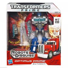 """Transformers Prime Robots in Disguise Voyager – Optimus Prime Approx 7"""" Tall New"""