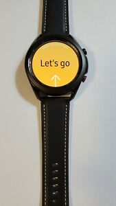 Samsung Galaxy Watch 3 45mm Smartwatch LTE Black SM-R845 Mint Condition 013