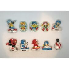 Série complète de 10 fèves Sonic Hedgehog aux sports d'hiver 2021