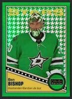 2019-20 O-Pee-Chee Platinum Green Houndstooth Ben Bishop 15/15