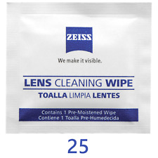 Zeiss Optical Lens Cleaning Wipes Glasses Phone Screen Camera 50,100 or 200