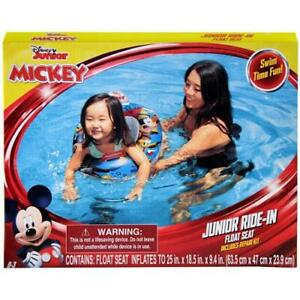 Disney Junior Ride in Float Seat Mickey Mouse Themed New in Box plus Repair Kit