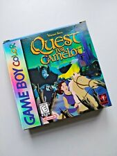 Quest for Camelot - Game Boy Color GBC - Complete in Box