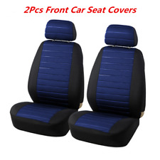 5MM Black&Blue Foam Car Seat Covers 2Pcs Model Car-styling Interior Accessories