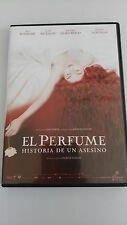 EL PERFUME HISTORIA DE UN ASESINO DVDCASTELLANO INGLES