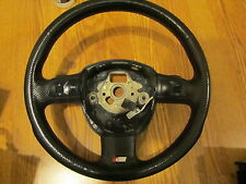 2006 2007 08 AUDI A4 S4 A3 A6 Q5 RS4 S LINE SPORT 3 SPOKE STEERING WHEEL PADDLE