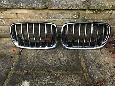 BMW E70 X5 E71 X6 FRONT RADIATOR KIDNEY GRILLES GRILL CHROME NEW