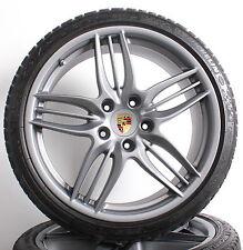 Original Porsche 20 Zoll Alufelgen 991 Sport Design Winterräder C2 S grau matt