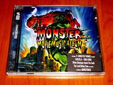 THE MONSTER MOVIE MUSIC ALBULM - Godzilla / King Kong … - Precintada