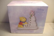 ~FROSTY SORT OF FUN~POOH & PIGLET~DISNEY SHOWCASE~PORCELAIN FIGURINE~131702~