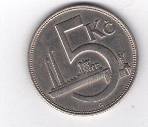 Tschechien S 8 KM 10: 5 Kronen collector Sammler coin