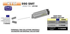 SILENCIEUX ARROW RACE-TECH ALUMINIUM KTM 990 SMT 2009/13 - 11006KZ+71763AK