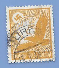 Germany Third Reich Nazi 1934 Nazi Swastika Eagle Luftpost 80 Stamp  WW2 ERA #5