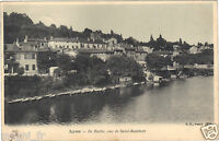 69 - cpa - LYON - L'Ile Barbe vue de Saint Rambert