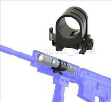 Quick Release 1 inch Flashlight Ring Rail Mount - Surefire Fenix Olight Nitecore