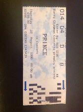 Prince - Wembley Arena Concert Ticket Stub - 23rd August 1990