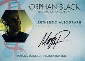 Orphan Black Season 1 Autograph MB Marqus Bobesich