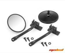 Rugged Ridge 97-17 Jeep Wrangler TJ JK Mirror Relocation Kit Black #11025.10