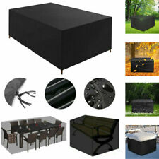 More details for duty waterproof garden patio furniture cover for rattan table cube sofa outdoor