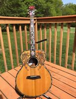 Blueberry Guitar Custom Acoustic MOP Masterpiece Martin D-100 Tuners Reduced!!!!