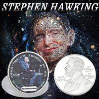 WR Der Tod von Stephen Hawking Gedenkmünze Silber Münze Medaille Sammlung 2018
