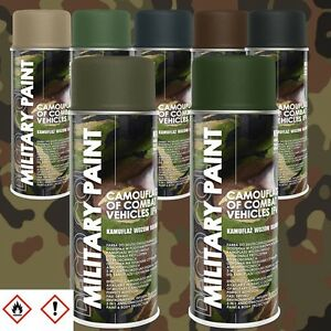 1 Stück 400ml Militär Army Militärlack Lackspray Tarnfarbe Farbe frei wählbar