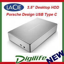 LaCie 4TB Porsche Design USB3.1 USB-C Desktop Hard Drive Type-C STFE4000300