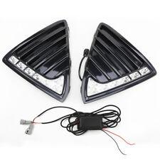 2x LED Daytime Running Light Fog Head Lamp DRL For Ford Focus 2011-2014