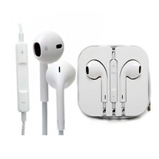 Genuine Apple iPhone Headphones Earphones White 5s 5c 6 6s Handsfree Mic MD827