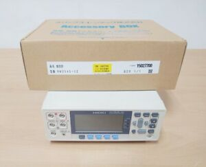 Hioki RM3545-02 Resistance Meter with accessories