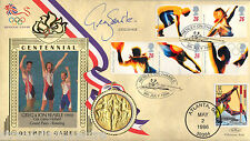 More details for 1996 olympics - benham gold medal official - signed by greg searle mbe