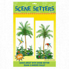 Amscan 2 Scene Setter Add-Ons Palm Tree 165x85 cm Plastic Party Decoration (672112)