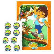 GO DIEGO GO PARTY GAME POSTER ~ Birthday Party Supplies Decorations Nick