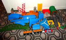Thomas & Friends Tomica World Train Track Road Buildings Bundle