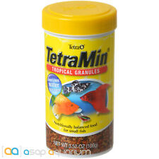 Tetra TetraMin Tropical Granules 3.52oz (100g) Fish Food Clear Water Formula