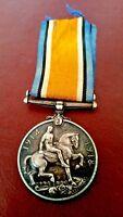 WW1 BRITISH WAR MEDAL 1914-1918 Awarded to SPR.F.GOWTHORPE.R.E.