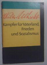 Walter Ulbricht-Kämpfer für Vaterland-Lesestoff für 5-10 Klasse Lesebuch DDR GDR