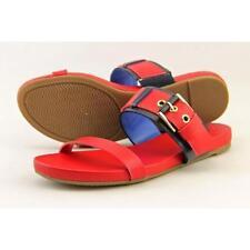 Sandali e scarpe rossi marca Tommy Hilfiger per il mare da donna