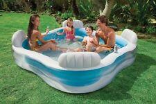 Intex Familia Niños Natación Central inflable natación infantil jardín piscina