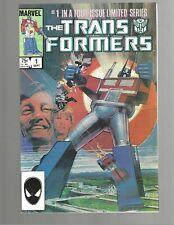 TRANSFORMERS #1 1984 Marvel Comic VF 8.0