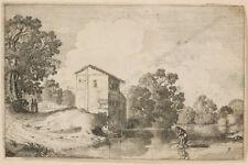 "Jan van de Velde II (ca. 1593-1641) ""Dutch landscapes"", five etchings, 1615/20"