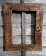 for A3 pict Rustic Reclaimed Jacobine Wood Driftwood Picture Canvas Photo Frame