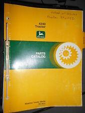 John Deere 4240 tracteur : catalogue de pièces